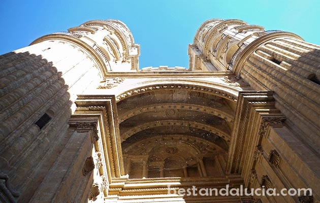 Cathedral in Malaga, Andalucia