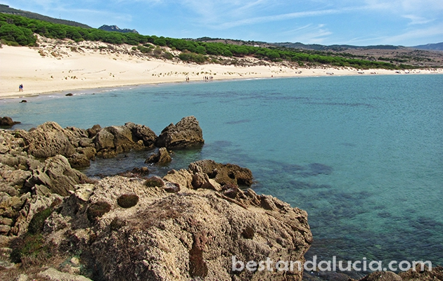 Top ranked Bolonia beach