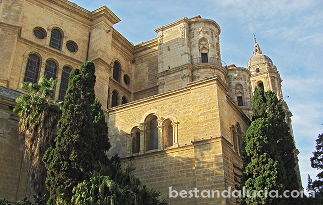 Cathedral in Malaga, Andalusia