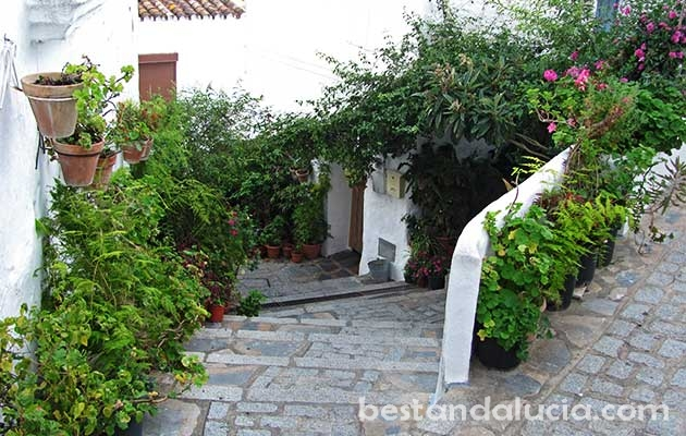 Charming narrow streets in Casares