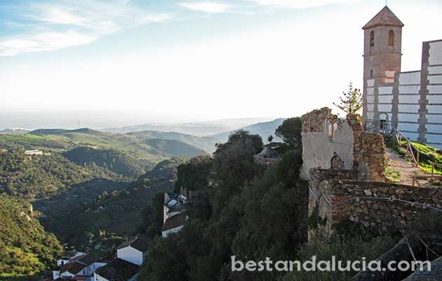 View from the Casares Castle