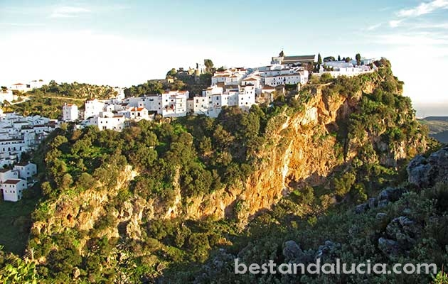 Casares, view, pueblo, blanco, white, village, Andalusia, spain, andalucia