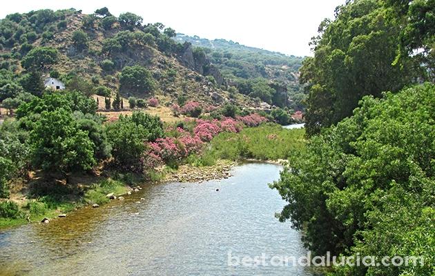 Hozgarganta, river, Jimena