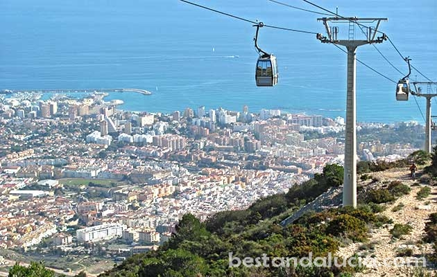 Teleferico cable car in Benalmadena