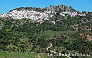 gaucin, pueblo, blanco, white, village, Andalusia, spain, andalucia