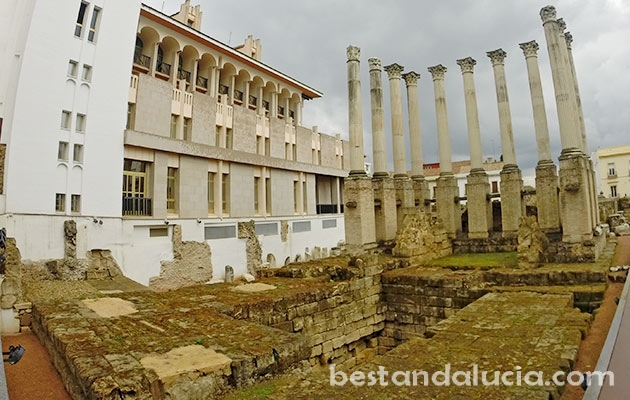 Ancient ruins in Corodba