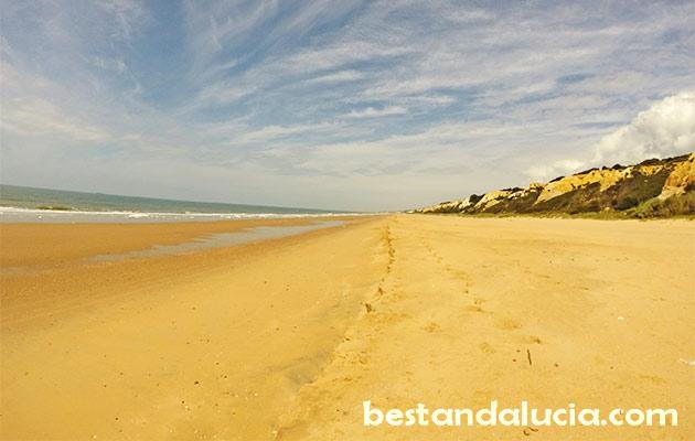 Rompeculos, beach, near Huelva, andalucia, spain, costa de la luz
