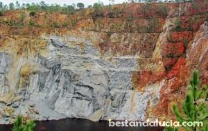 Peña del Hierro in the Rio Tinto Mines
