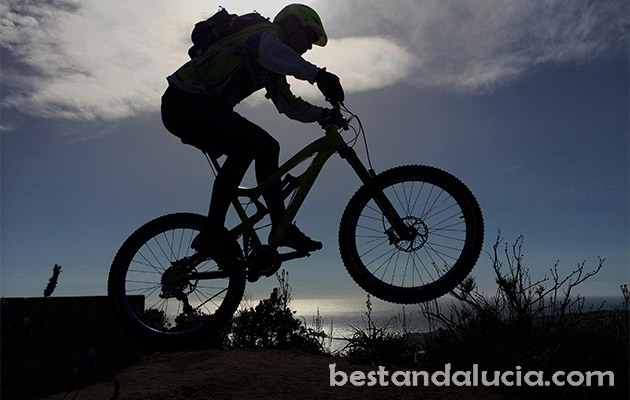Mountain biking in Andalucia Spain