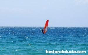 windsurfing, Tarifa, spain, Valdevaqueros beach