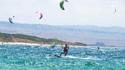 kitesurfing, Playa de Valdevaqueros, Tarifa, spain, espana