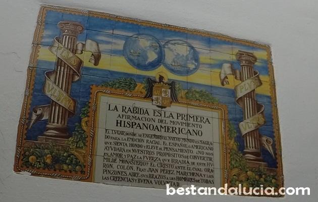 Entrance to La Rabida monastery